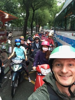 Bike Tour in Peak Hour