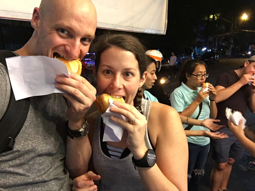 Enjoying Street Food